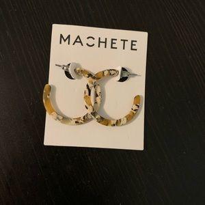 Machete Hoop Earrings